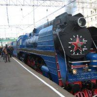 Trans-siberian express engine